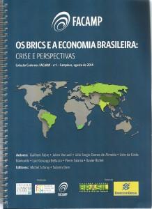 Caderno Facamp.Os BRICS e a Economia brasileira.Couverture